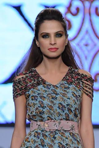 Fouzia Aman at PFDC Sunsilk Fashion Week 2012
