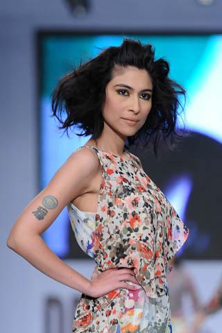 Meesh Shafi at PFDC Sunsilk Fashion Week 2012