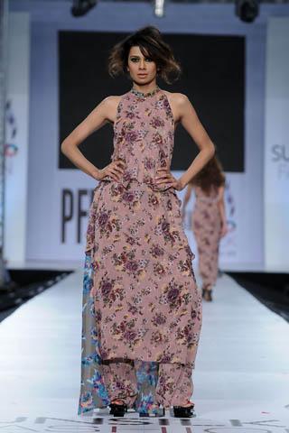 Fia at PFDC Sunsilk Fashion Week 2012 Day 4