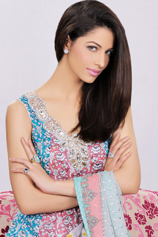 Karma 'The Gypsy Lawn Collection' By Al Zohaib Textile, Karma Lawn Collection 2012