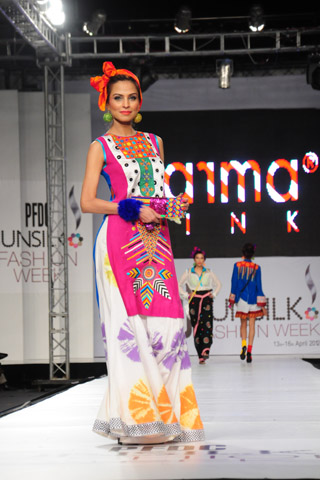 Karma Pink at PFDC Sunsilk Fashion Week 2012 Day 3, PFDC Sunsilk Fashion Week 2012
