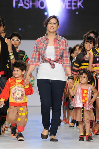Kids Collection by Sundus Nawaz at PFDC Sunsilk Fashion Week 2012 Day 3