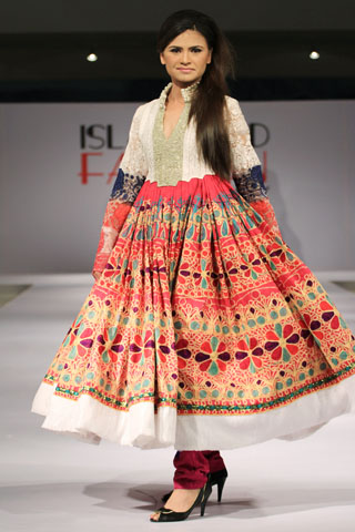 Lakhani Collection at Islamabad Fashion Week A/W 2012