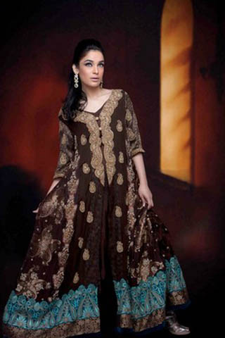 Latest Bridal & Party Wear Collection - Kosain Kazmi