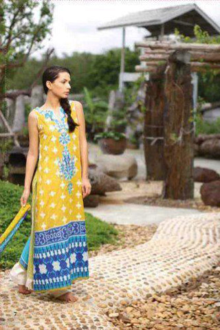 Mid Summer Lawn Collection 2012 by Lakhany Silk Mills, Lawn Collection 2012