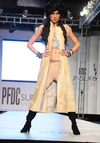 Nauman Arfeen at PFDC Sunsilk Fashion Week 2012 Day 2, PFDC Sunsilk Fashion Week 2012