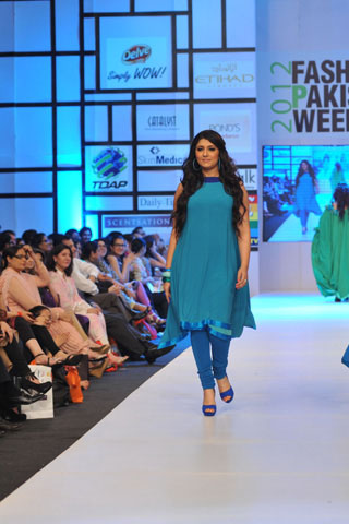 Nomi Ansari at Fashion Pakistan Week 2012 Day 3