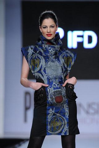 Cybil at PFDC Sunsilk Fashion Week 2012