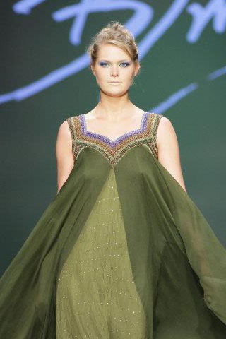 Peacock Palette Collection Show in London