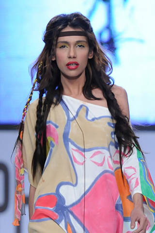 Fashion Model Fayeza at PFDC Sunsilk Fashion Week 2012