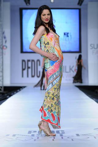 Fashion Model Cybil at PFDC Sunsilk Fashion Week 2012 Day 4