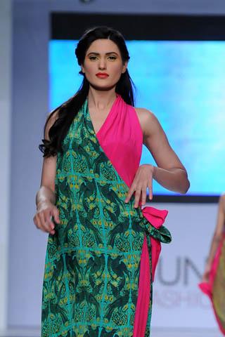 Sania Maskatiya at PFDC Sunsilk Fashion Week 2012