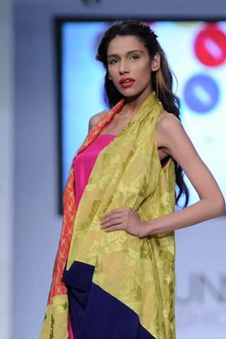 Fayeza Ansari at PFDC Sunsilk Fashion Week 2012
