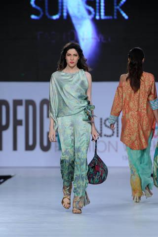 Sabina at PFDC Sunsilk Fashion Week 2012 Day 4