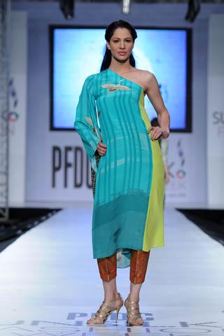 Cybil at PFDC Sunsilk Fashion Week 2012 Day 4