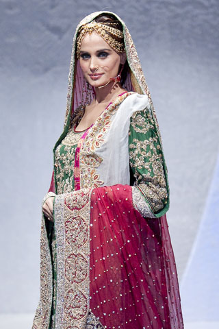 Sara Rohale Asghar at Pakistan Fashion Week London 2012
