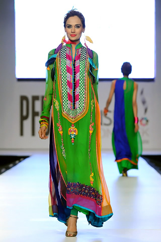 Somal Halepoto at PFDC Sunsilk Fashion Week 2012 Day 3, PFDC Sunsilk Fashion Week 2012
