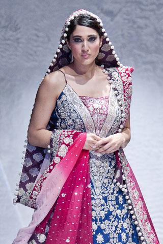 Zainab Sajid at Pakistan Fashion Week London 2012