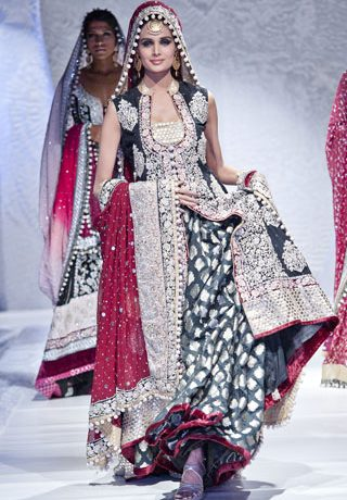 Zainab Sajid Collection at Pakistan Fashion Week London 2012 Day 1