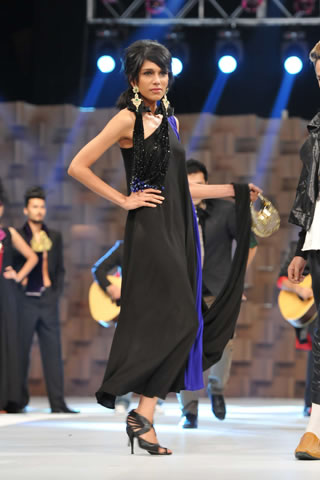 Fashion Show at Lux Style Awards 2011 by Ali Xeeshan