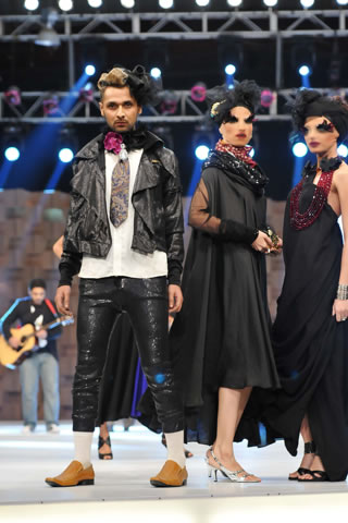 2011 Fashion Show at Lux Style Awards by Ali Xeeshan