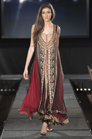 Asifa & Nabeel at Pakistan Fashion Extravaganza