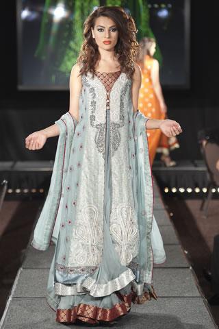 Asifa & Nabeel at Pakistan Fashion Extravaganza 2011