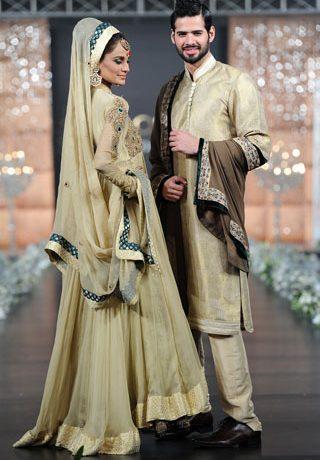 Asifa & Nabeel at PFDC L'Oreal Paris Bridal Week 2011 - Day 3, PFDC Fashion Week 2011