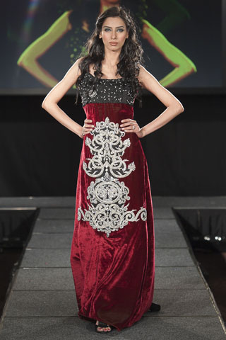 Asim Jofa at Pakistan Fashion Extravaganza 2011, Asim Jofa at London Fashion Show