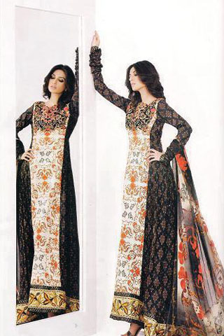 Asim Jofa Summer Lawn Collection 2012, Summer Lawn Collection 2012 by Asim Jofa
