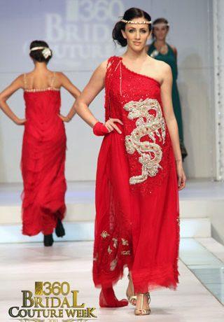 Ayesha & Somaiya at Bridal Couture Week 2011, Bridal Collection 2011