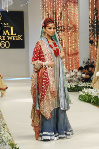 Bina Sultan (BNS) Collection at Pantene Bridal Couture Week 2011 - Day 1