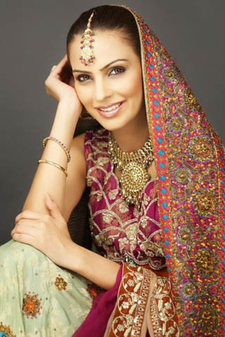 Bridal Wear Collection 2012 By Shaiyanne Malik