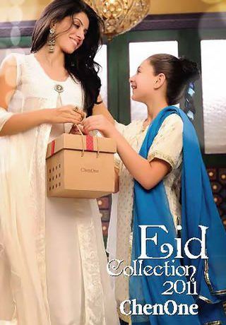 Eid Collection 2011 by Chen One, Pakistani Eid Dresses by Chen One