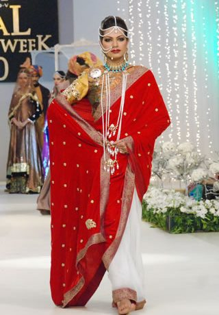 Fahad Hussayn Collection at Pantene Bridal Couture Week 2011 - Day 1