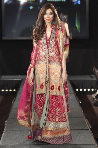 Faiza Samee At Pakistan Fashion Extravaganza 2011 London Designer Faiza Samee