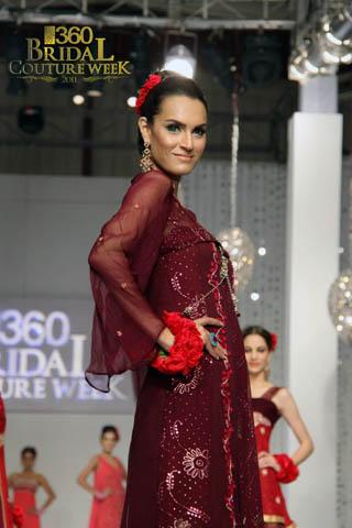 Pakistani Fashion Designer Hajra Hayat at Bridal Couture Week Day 2