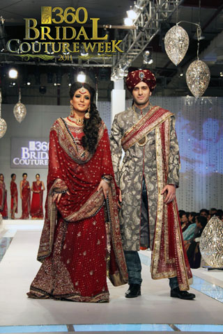 Lajwanti's Collection at Bridal Couture Week 2011 Day 2, Bridal Collection