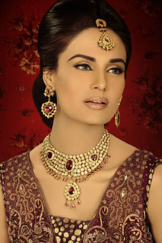 Latest Bridal Collection 2012 by Lajwanti