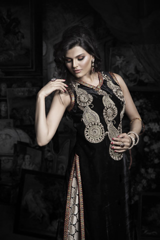 Latest Winter Collection 2012  by Saim Ali, The Queen Of Persia by Saim Ali