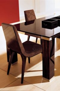 Luxurious Dining Table Designs By Wing Chair Pakistan Designer