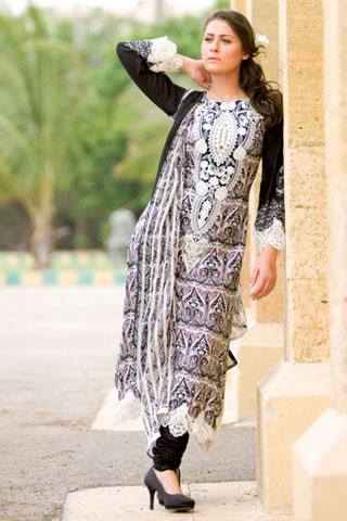 Designer Dress Series by Al Zohaib Textile