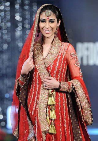Nida Azwer Collection at PFDC L'Oreal Paris Bridal Week 2011 - Day 4