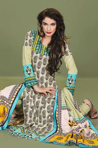 Sana Samia Latest Winter Collection 2012 By Lala Textiles, Winter Collection