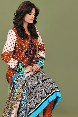 Sana Samia Latest Winter Collection 2012