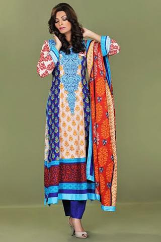 Sana Samia Latest Winter Collection 2012 By Lala Textiles