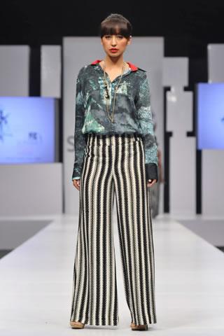 Sania Maskatiya at PFDC Sunsilk Fashion Week 2012 Karachi Day 2