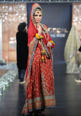 Sara Rohale Asghar at PFDC L'Oreal Paris Bridal Week 2011 - Day 3