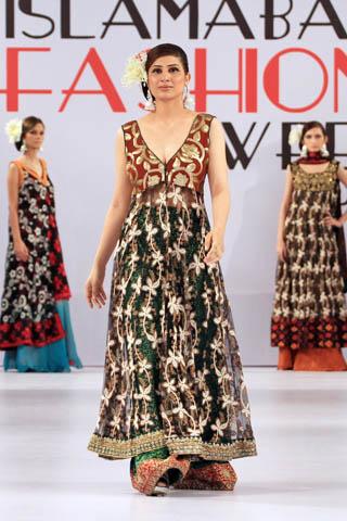 Shaiyanne Malik Collection At Islamabad Fashion Week A W 2012 Ifw 2012