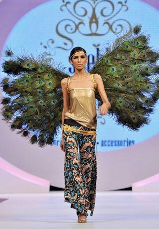 Shehla's Collection at Veet Beauty Celebration 2011, Pakistani Designer Shehla